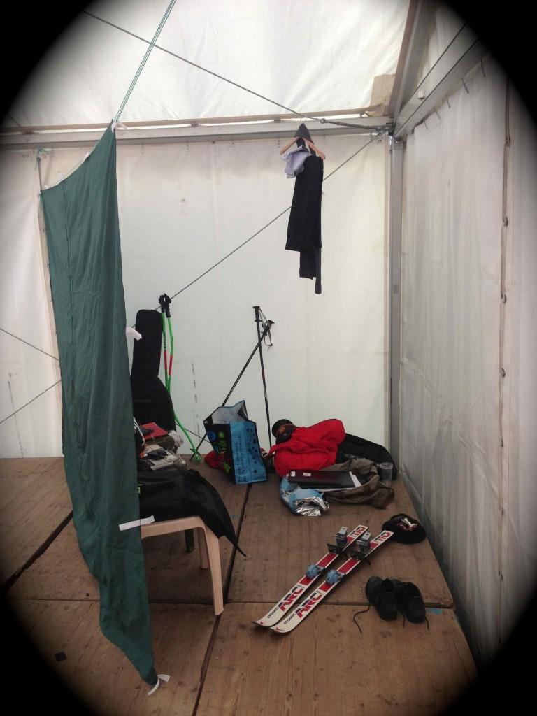 ...Luxus pur im Völser Backstage-Bereich...;-)))